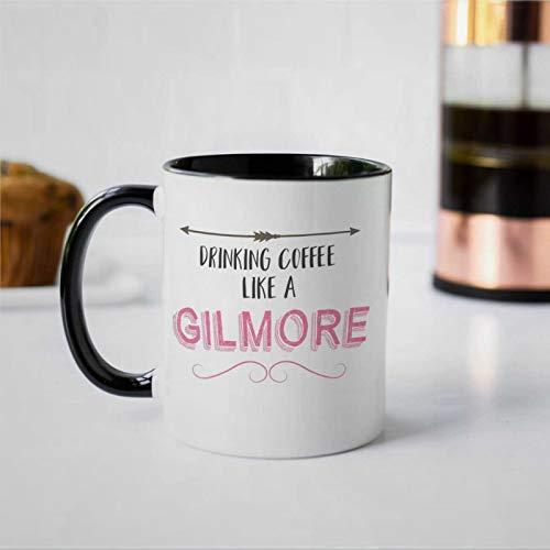 G-ilmore Kaffeebecher mit Aufschrift