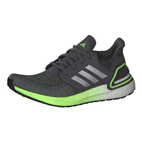 adidas Mens Ultraboost 20 Running Shoe, GREFIV/SILVMT/SIGGNR, 47 1/3EU