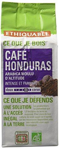 Ethiquable Café Moulu Honduras Bio et Équitable 250 g Producteurs Paysans
