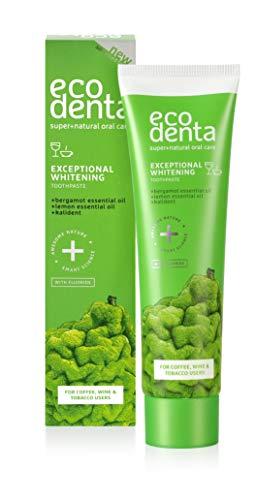 Ecodenta Teeth Whitening Zahnpasta 100ml I Whitening Toothpaste Die Speziell Für Kaffee Tee Buntgetränk Oder Tabakliebhaber Entwickelt Wurde