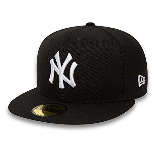 NEW ERA Major League Baseball Cap NY NEW YORK YANKEES 59FIFTY Basic - Black / White