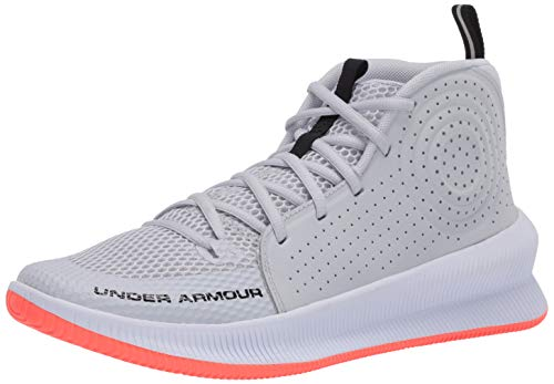 Under Armour Herren UA Jet Basketballschuhe, Grau (Halo Gray/White/Black (105) 105), 42 EU