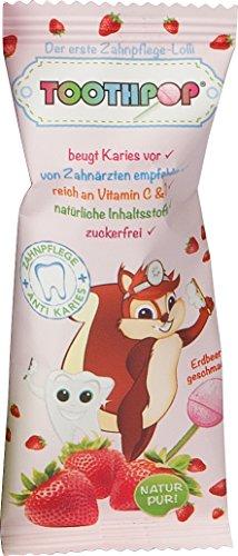 Toothpop Zahnpflege Lolli, 20er Pack (20 x 1 Stück)