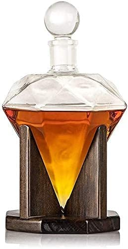 beautiful Whiskey Decanter Max 66% OFF Whisky Crea New sales Glasses