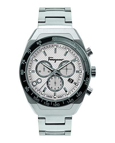 Salvatore Ferragamo Ferragamo SLX Reloj de pulsera para hombre, 43 mm, SFHR00520