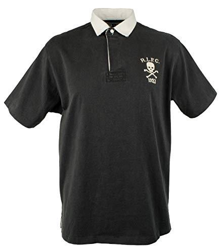 Polo Ralph Lauren Men's Big & Tall R.L.F.C. 1923 Rugby Shirt-B-2LT Black