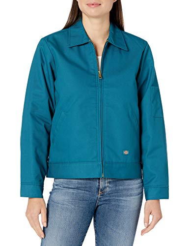 Dickies Damen Women's Eisenhower Insulated Jacket Isolierte Jacke, Dunkles Himmelblau, Groß