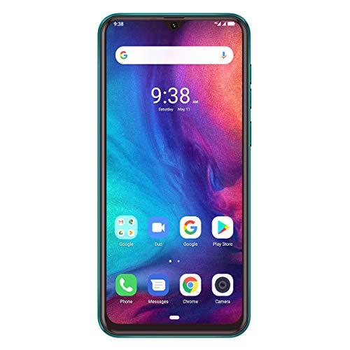 Smartphone Libre 4G Ulefone Note 7P, Waterdrop 6.1 Teléfono Móvil, 3+ 32 Go Quad-Core Android 9.0, Moviles Libres 2019 Cámara Trasera Triple y Ranura Triple, Face ID et Fingerprint 3500mAh OTG (Verde)