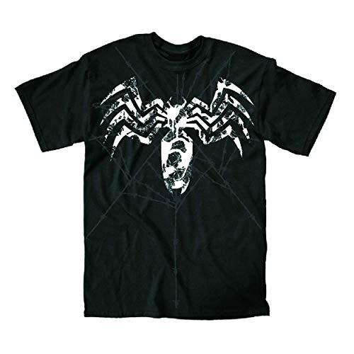 Toy Zany Venom Logo Paint Black Camiseta...