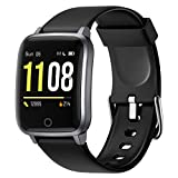 <span class='highlight'>Letsfit</span> High-End <span class='highlight'>Fitness</span> <span class='highlight'><span class='highlight'>Tracker</span>s</span>, Smart Watch <span class='highlight'>with</span> Heart Rate Monitor, 1.3 Inch Color Screen Step Counter Smartwatch <span class='highlight'>with</span> Pedometer, IP68 Waterproof Calorie Counter Sleep Monitor for Women Men