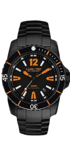 LUM-TEC 300M Series 300M-3XL (45mm Black PVD) Watch