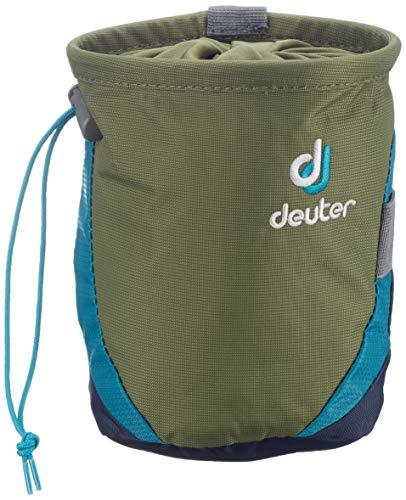 Deuter Gravity Chalk Bag I L Sac à Cordon, 17 cm, Vert (Khaki-Navy)