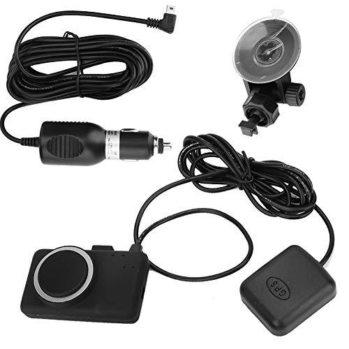 Dispositivo di allarme di guida a fatica per auto, Akozon allarme conducente ABS Dispositivo di avviso di sonno Avviso di guida sicura Lettura del viso Monitor anti sonno (nero)
