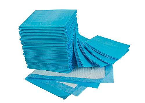 Empapadores desechables para incontinencia - Empapadores super-absorbentes, 60 X 90 cm, 45 Gram (50 unidades)