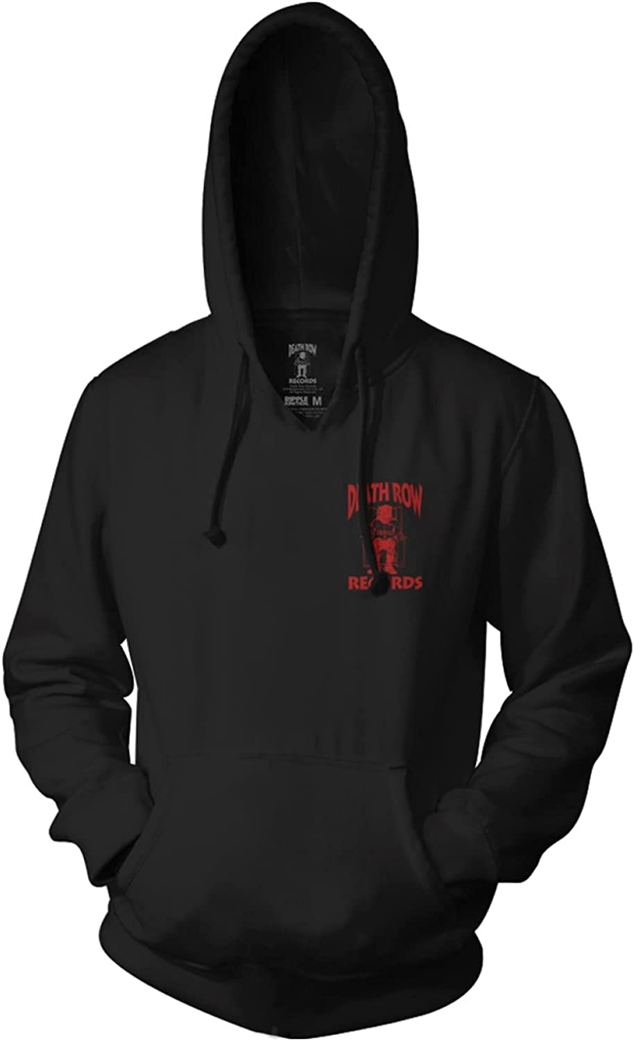 Ripple Junction Death Row Max 81% OFF Records Black Popular brand Unisex Red Adult R