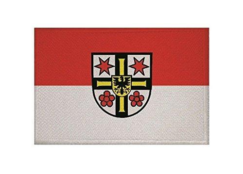 U24 Aufnäher Bad Mergentheim Fahne Flagge Aufbügler Patch 9 x 6 cm