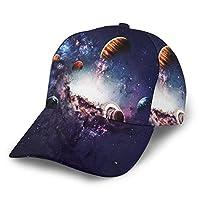 キャップ メンズ レディース 帽子 春夏秋冬 野球帽 ゴルフ テニスUVカット 日除け 紫外線対策 調整可能 男女兼用 画像は太陽を創造する惑星を提示します