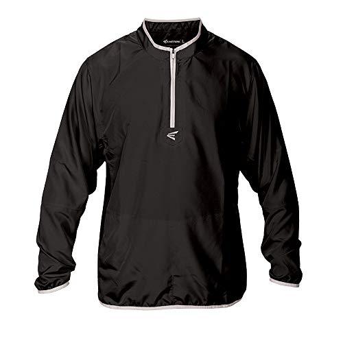 Easton M5Youth Jungen Lange Ärmel Käfig Jacke, Jungen, schwarz/Silber, Medium