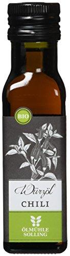 Ölmühle Solling // Würzöl Chiliöl - nativ, kaltgepresst, auf Rapsölbasis - 100 ml - BIO, Naturland