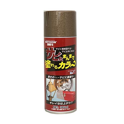 染めQ サビたまんまで塗れるカラー エアゾール ブロンズ 395ml /錆止め 塗料 染めQ スプレー そめQ