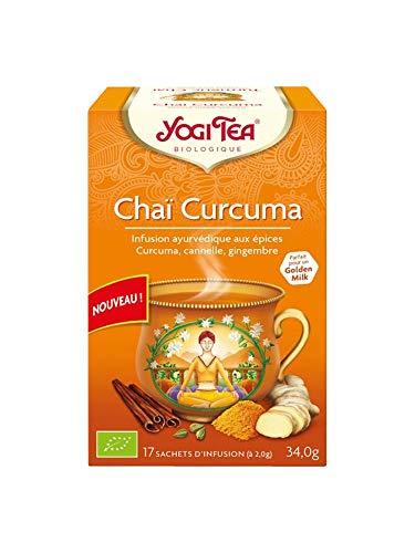 Yogi Tea Curcuma/Turmeric Chai Tea Bio, 17 Stuk, 17 Units