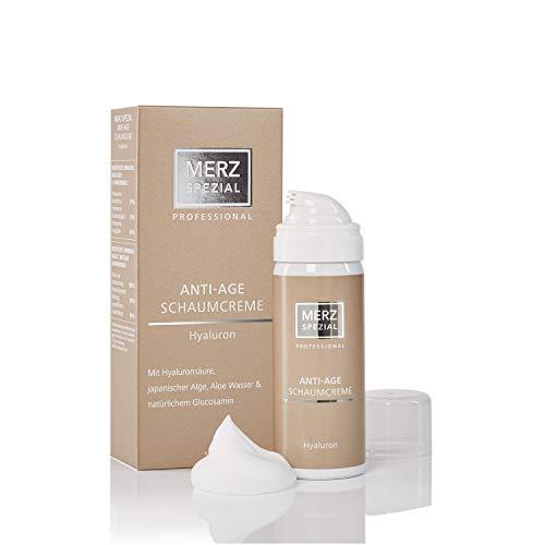 Merz Spezial Professional Anti-Age Schaumcreme Hyaluron - für intensive Feuchtigkeit und eine verbesserte Hautelastizität mit Sofort Effekt (1 x 50 ml)