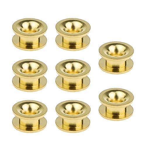 Lot de 8 œillets universels pour tondeuse à gazon - Tête de débroussailleuse - En laiton - 5 mm