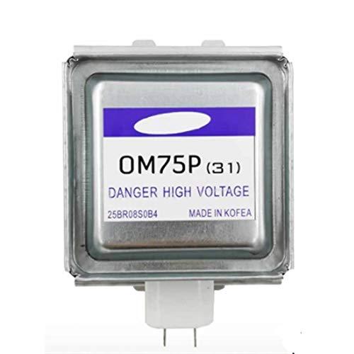 Ymhan® 100% Nuevo Microondas Original Magnetron Magnetron Fit para Samsung OM75P (31) Microondas Horno Repuestos Accesorios Reemplazo