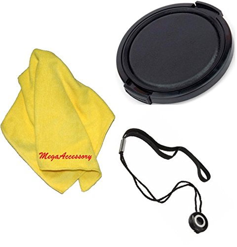 72mm Universal Snap-On Lens Cap for Canon XH A1 XH A1SXH G1XH G1SCamcorder+ Cap Keeper + Microfiber Cleaning Cloth + LCD Screen Protectors