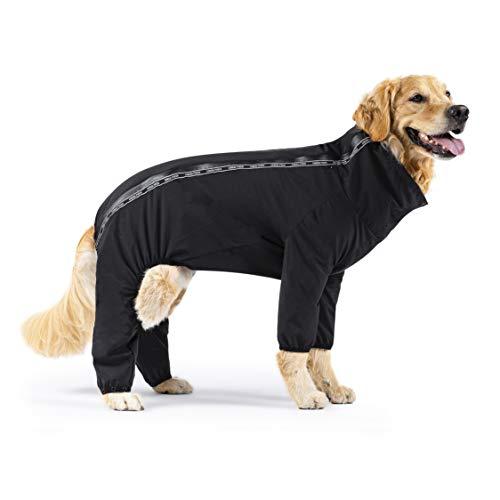 Canada Pooch | Dog Slush Suit (14, Black), 14 (13-15