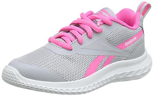 Reebok Rush Runner 3.0, Zapatillas de Running Mujer, CDGRY2/ELEPNK/BLANCO, 36 EU