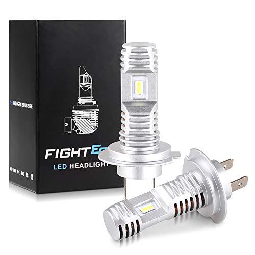 MOOHOP H7 LED Headlight Bulbs Conversion Kit Fog Light Bulb Halogen...
