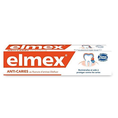 Elmex – Dentífrico anticaries 75 ml – Lote de 3