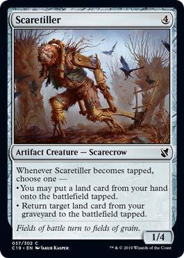 Magic: The Gathering - Scaretiller - Commander 2019