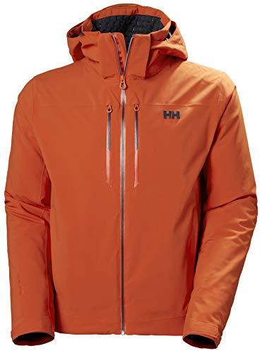 Helly-Hansen Mens Alpha LIFALOFT Ski Jacket, 300 Patrol Orange, Medium