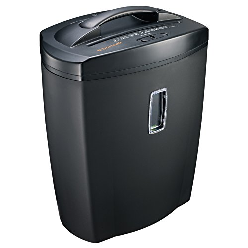 Bonsaii DocShred C156-D 12-Sheet Cross-Cut Paper/CD/Credit Card Shredder with 5.5 Gallon Wastebasket Capacity and Window