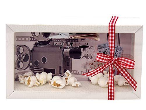 ZauberDeko Geldgeschenk Verpackung Geldverpackung Kino Popcorn Kinogutschein Cinema Film