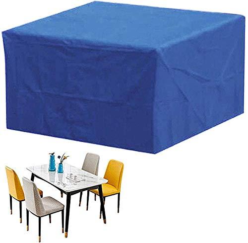 WAFWYY Funda para Muebles de Jardín Exterior,Conjuntos de Muebles Cubierta Impermeable para Sofa de Jardin, al Aire Libre, Patio, Plazas Funda para Sofa de Esquina, (420D)