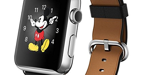 "Apple Watch Hermès smartwatch Acciaio Inossidabile OLED 3,81 cm (1.5"")"