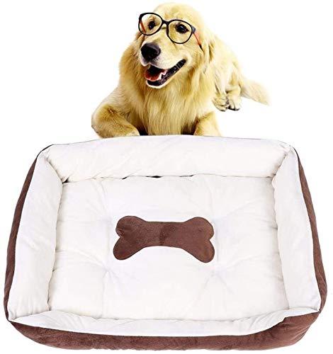 YAOSHUYANG Perro Cama Cama de Gato Cama para Mascotas para Gatos y Perros pequeños, cálida Mascota Suave Matada para Mascotas para Perros Lavables Nido Desmontable y Lavable Robusto de Perro