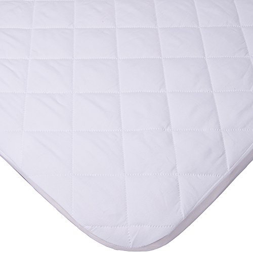MiClassic Waterproof Deluxe Soft Crib Sheet,Slight Padding
