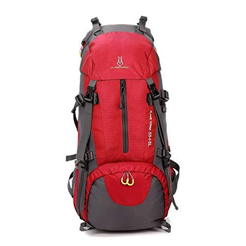 HYCy Reiserucksack, Top Qualitauml;t Taktische Rucksack Camping Taschen Bergsteigenbeutel Mauml;nner Wandern Rucksack 60L Reiserucksack