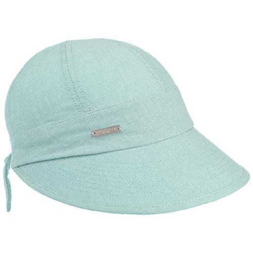 Seeberger Chambry Schildmütze Schirmmütze Sommercap Damencap Baumwollcap Cap Mütze Damenmütze (One Size - türkis)