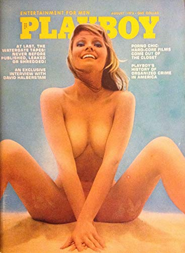 PLAYBOY MAGAZINE August 1973 Mbox2382 Porno Chic: Hard Core...