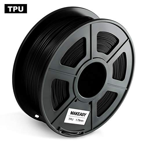 Filamento PETG TPU ABS 1,75 mm, materiali di stampa 3D, Nero, 6