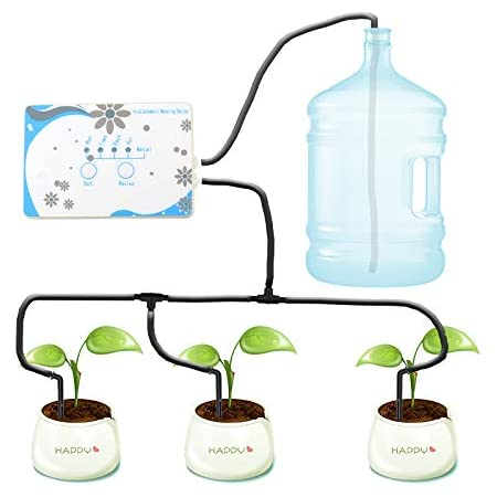 Bottle Automatic Drip Irrigation Plant Watering Timing Setting Watering System