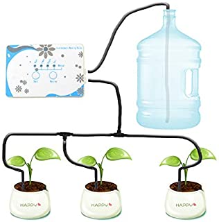 HONUTIGE Garden Automatic Drip Irrigation System, App Control DIY Automatic Drip Irrigation Kits, Houseplants Self Waterin...