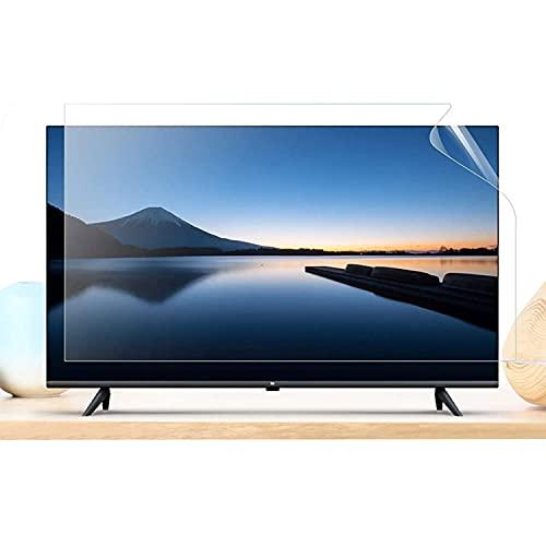 Protector Pantalla TV, Película Protectora antideslumbrante/Antirreflejo/Protección contra radiación/Antimiopía, Tasa antirreflejo hasta 90%, para LCD, LED, OLED y QLED 4K HDTV,32' 698 * 392mm