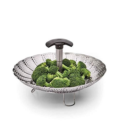 Vaporera OXO Rejilla Cestillo para cocinar al vapor