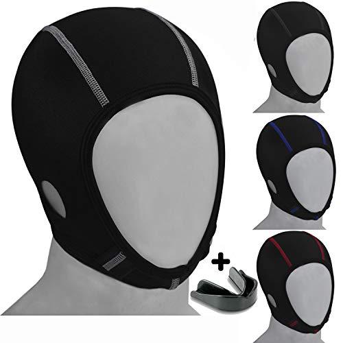 Koyes Wrestling Hair Cover Cap (Blk-White)